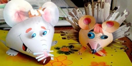 Мышка-норушка и Ежик- колючка