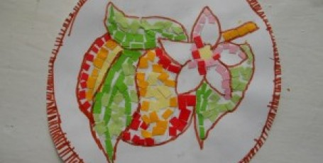 Мозаика «Цветущий персик»