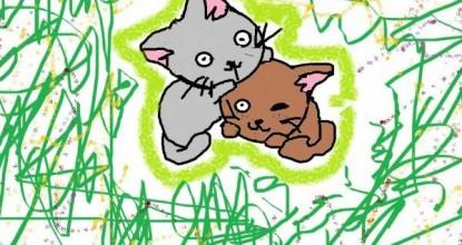 Котятки — рисуем на компьютере