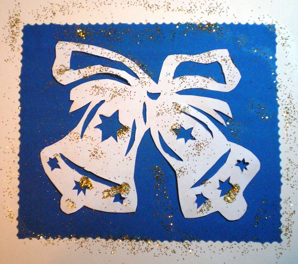 Картинки новогодние поделки из бумаги