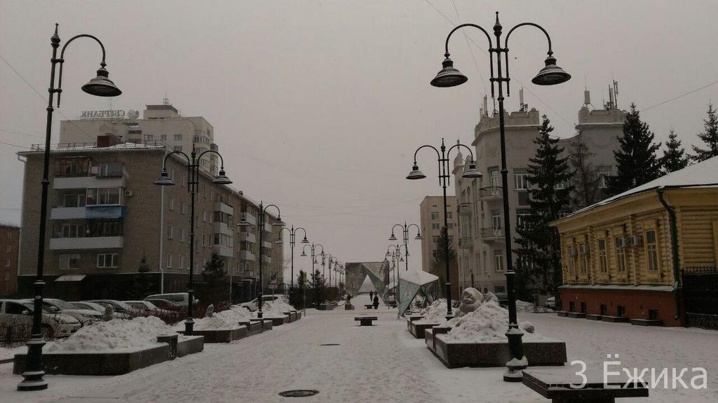 Зимний город - фотозима - декабрь (1)