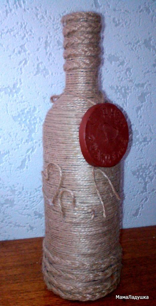 Бутылка-сувенир в подарок