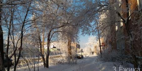 Зимний город — фотозима — декабрь