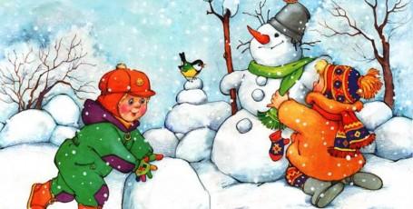 Зимние скороговорки