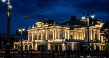 Достопримечательности Омска — академический театр драмы