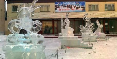 Ледяная сказка.  Часть 1