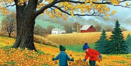 Осенние скороговорки