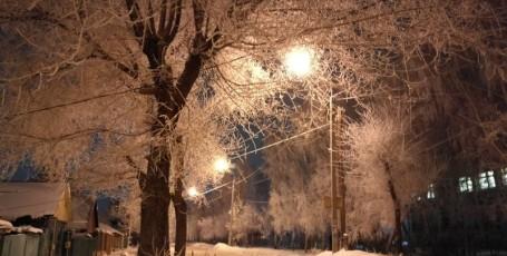 Снежное кружево