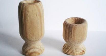 Точеные вазочки.