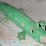 Выкройка крокодила
